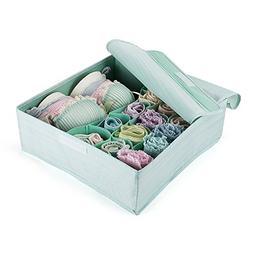 MEÉLIFE Foldable Fabric Underwear Organizer Bras Storage Bo