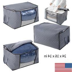 Foldable Portable Home Closet Storage Bag Organizer Box Clot