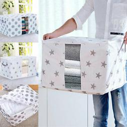 Foldable Storage Bag Clothes Blanket Quilt Closet Sweater Or