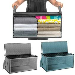 Foldable Storage Bag Clothes Blanket Sweater Quilt Storage B