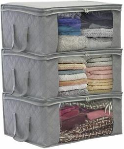 Foldable Storage Bag Organizers Sorbus with Window and Carry
