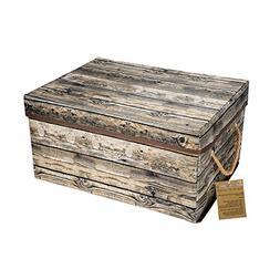 Livememory Foldable Storage Box Basket Organizer Bin with Li