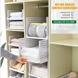 foldable storage box clothes household divider drawer