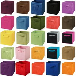 Foldable Storage Cube 2pcs Basket Bins Organizer Closet Cont