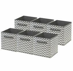 foldable storage cube basket bin 6 pack