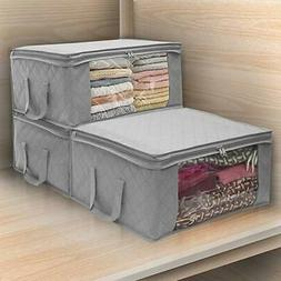 Folding Storage Box Quilt Storage Bag Wardrobe Clothing Stor