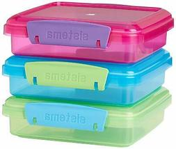 Sistema Food storage containers  Plastic Microwavable Set of