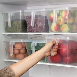 Kitchen Fridge Food Storage Container Organizer Holder Fruit