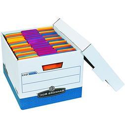 Bankers Box R-KIVE Heavy-Duty Storage Boxes, FastFold, Lift-