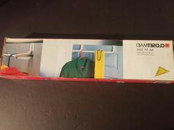 GENUINE NEW IN BOX CLOSET MAID Over The Door Rod Clothes Sto