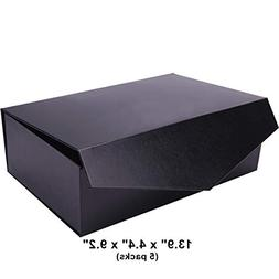 PACKHOME Large Gift Boxes 14x9.5x4.5 Inches Sturdy Gift Boxe