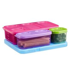 Rubbermaid Girls' Lunch Kit, Flat