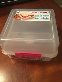 Sistema To Go Collection Lunch Cube Food Storage Container,