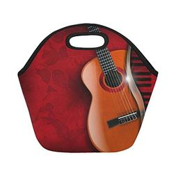 Gogogosky Custom Reusable Acoustic Brown Guitar And Piano Lu