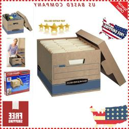Bankers Box Heavy Duty File Boxes