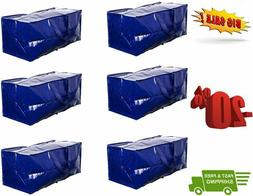 Earthwise Heavy Duty Extra Large Storage Bag Moving Tote Bac