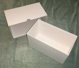 heavy duty storage box with lid white