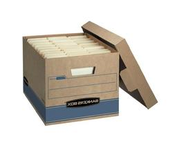"""Bankers Box Heavy Duty Storage Boxes, 10"""" x 12"""" x 15""""  - Fre"""
