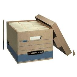 "Bankers Box Heavy Duty Storage Boxes, 10"" x 12"" x 15"" , Kraf"