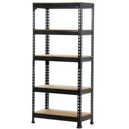 Heavy Duty Storage Rack 5 Level Adjustable Shelves Garage St