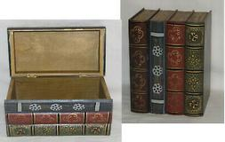 Hideaway Book Box Book Safe Wooden Book Safe Storage Shelf D