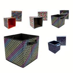 "Home 12"" Storage Box Household Organizer Closet Shelf Cube B"