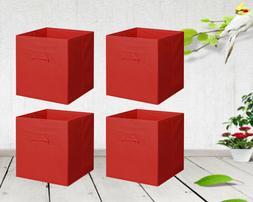 New Home Storage Bins Organizer Fabric Cube Boxes Shelf Bask