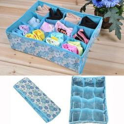 Home Storage Box Socks Underwear Ties Closet Drawer Organize