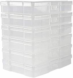 "HOT Transparent 4"" x 6"" Photo Storage Boxes - Photo Organize"