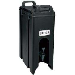 Cambro 4.75 Gal. Insulated Beverage Container, Black