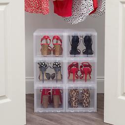 IRIS USA, Inc. High Stackable Shoe Storage Box