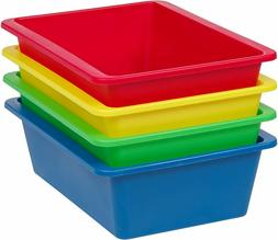 IRIS USA, Inc. THR-L Large Multi-Purpose Plastic Bins, Prima