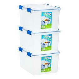 IRIS USA, Inc. WSB-SD WeatherShield Storage Box, 44 Quart, C