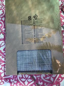 IKEA ISUNDA Gray Footstool Storage Ottoman Cover New In Box