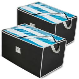 Jumbo Storage Bag Organizer  Large Capacity Storage Box for