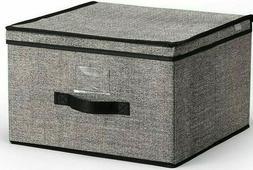Jumbo Storage Box Organizer Complete Closet System Attached