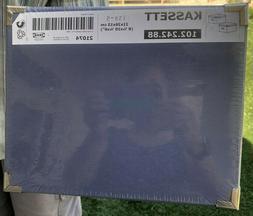 IKEA KASSETT Storage Boxes w/Lids MEDIUM BLUE 8 1/4 X 10 1/4