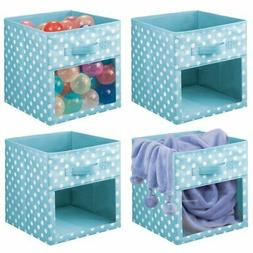 kids fabric closet storage organizer cube bin