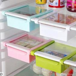 Kitchen Freezer Fridge Space Saver Storage Box Organizer Hol