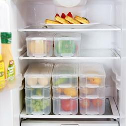 Kitchen Fridge Food Egg Storage Box Drawer Container Organiz