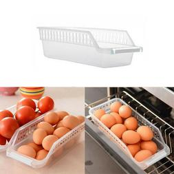 Kitchen Slide Freezer Fridge Space Saver Shelf Holder Storag