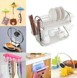 Kitchen Storage Rack Holder Space Saver Kitchenware Food Box