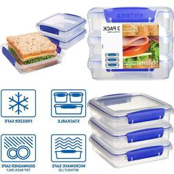Sistema Klip It Collection Sandwich Box 1.9 Cup Compact Food