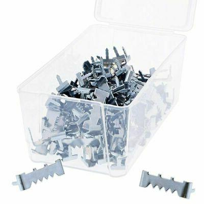 100 count metal sawtooth picture frame hangers