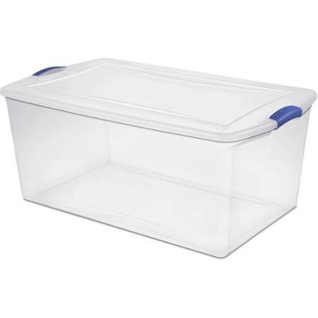 Sterilite Box- Blue