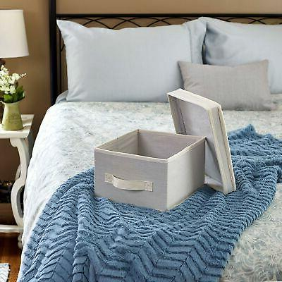 Household Box with and Handle - Canvas