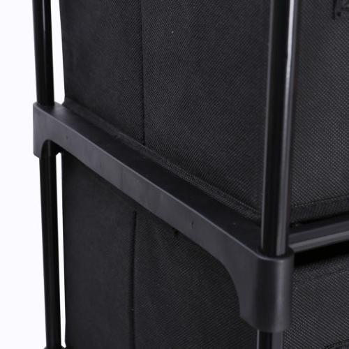 12 Storage Non-woven in Black
