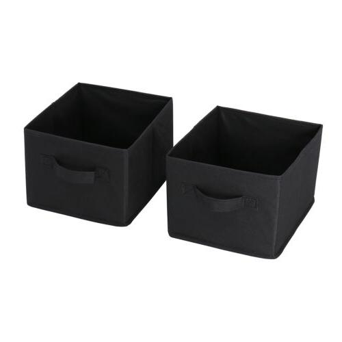 12 Drawers Storage Unit Removable Black
