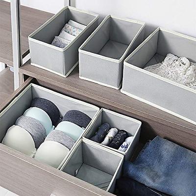 12 Pack Cloth Storage Box Closet Drawer