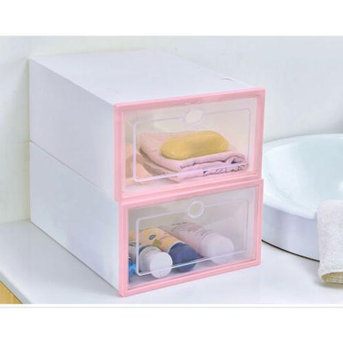 12/24pcs Shoe Box Storage
